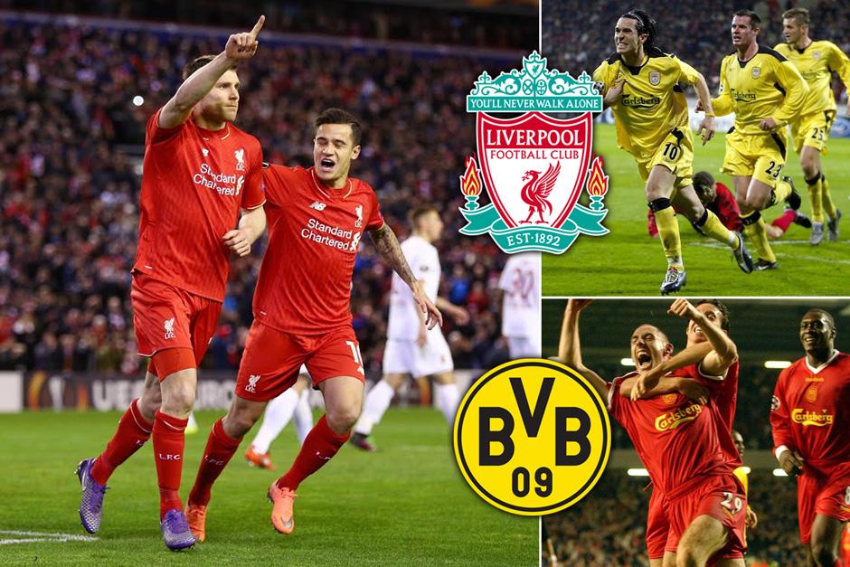 Liverpool vs Dortmund, Jangan Menyerah Hingga Detik Terakhir
